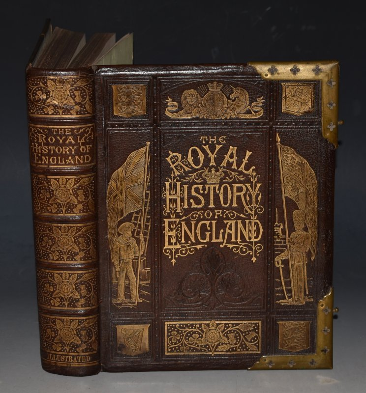 The Royal History of England. From the Earliest Period to the Present Time. Embellished with a Series of Steel Engravings, representing the principal events in english history, portraits of celebrated persons, etc, etc.