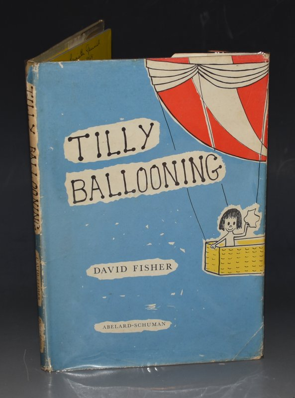 Image for Tilly Ballooning Written and Drawn by David Fisher.