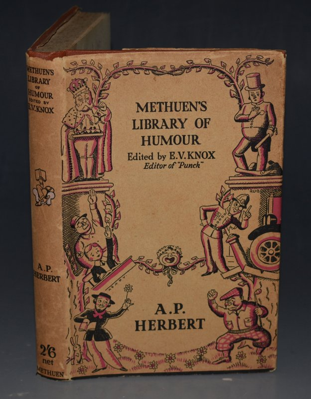"Image for Methuen's Library of Humour: A. P. Herbert Edited by E.V. Knox (Editor of ""Punch."")"
