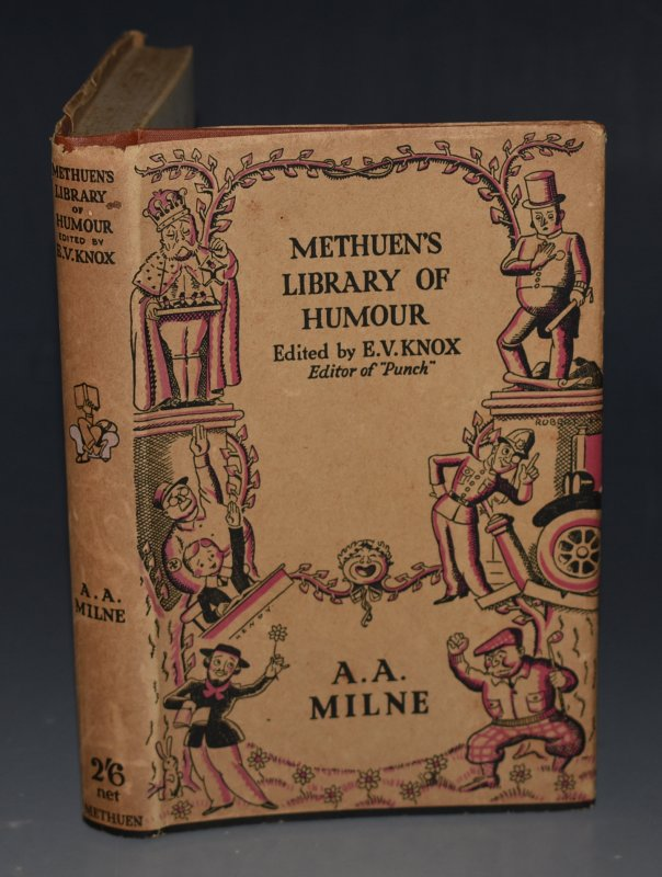 "Image for Methuen's Library of Humour: A. A. Milne Edited by E.V. Knox (Editor of ""Punch."")"