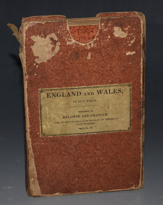 Image for England and Wales, In Five Parts 5 Folding Hand-Coloured Maps of England and Wales. Engraved by J & C. Walker.