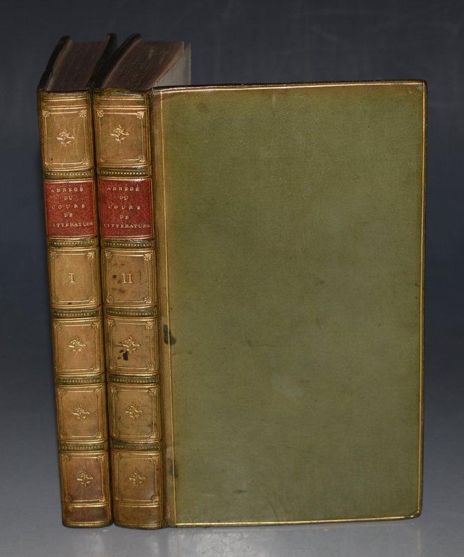 Abrege Du Cours De Litterature Ou Precis des jugements de ce critique  celebre sur les Ecrivains anciens et modernes, et sur chacun de leurs  ouvrages