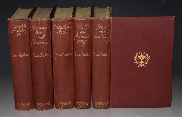 Image for The Novels of Jane Austen, in Five Volumes. The Text based on collation of the early editions. With notes Indexes and illustrations from Contemporary Sources by R. W. CHAPMAN. Second Edition.