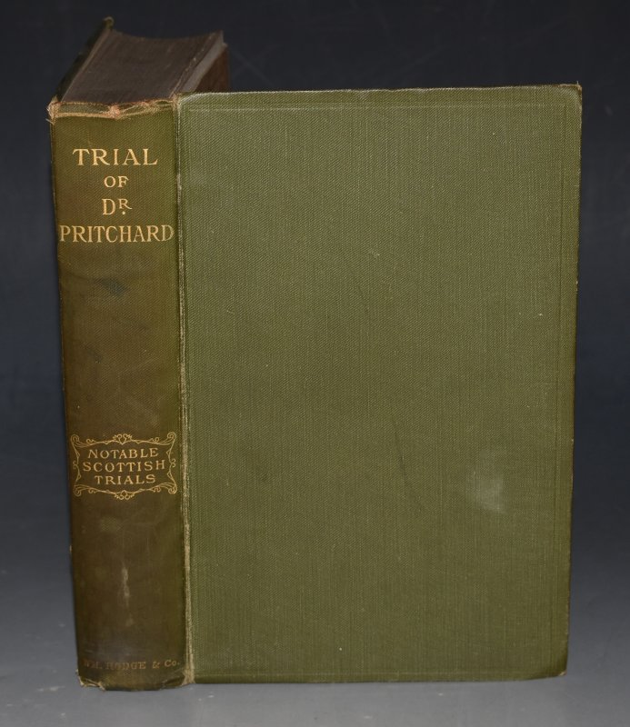 Image for Trial of Dr. Pritchard Notable Scottish Trials.