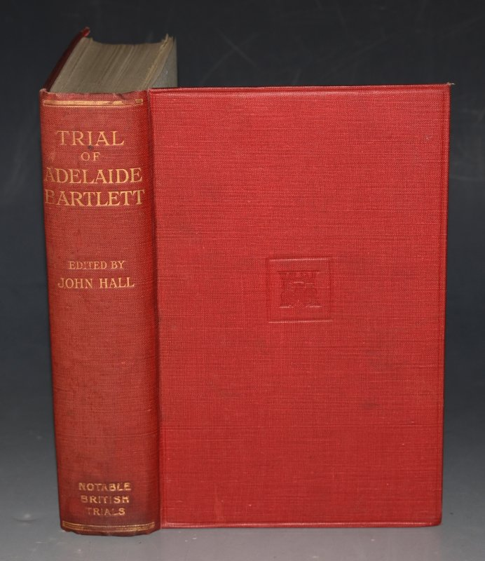 Image for Trial of Adelaide Bartlett Notable British Trials.