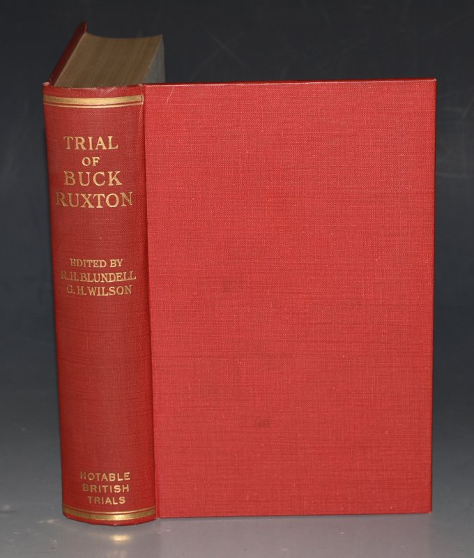 Image for The Trial of Buck Ruxton Notable British Trials