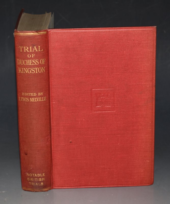 Image for The Trial of The Duchess of Kingston Notable British Trials