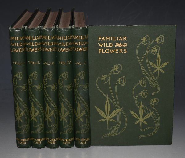 Image for Familiar Wild Flowers. Figured and Described by F. Edward Hulme. With 200 Coloured plates. Five Volumes Complete. (First to Fifth Series.)