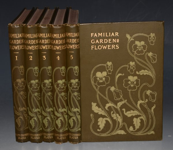 Image for Familiar Garden Flowers. Figured and Described by F. Edward Hulme. With Coloured plates. Five Volumes Complete. (First to Fifth Series.)