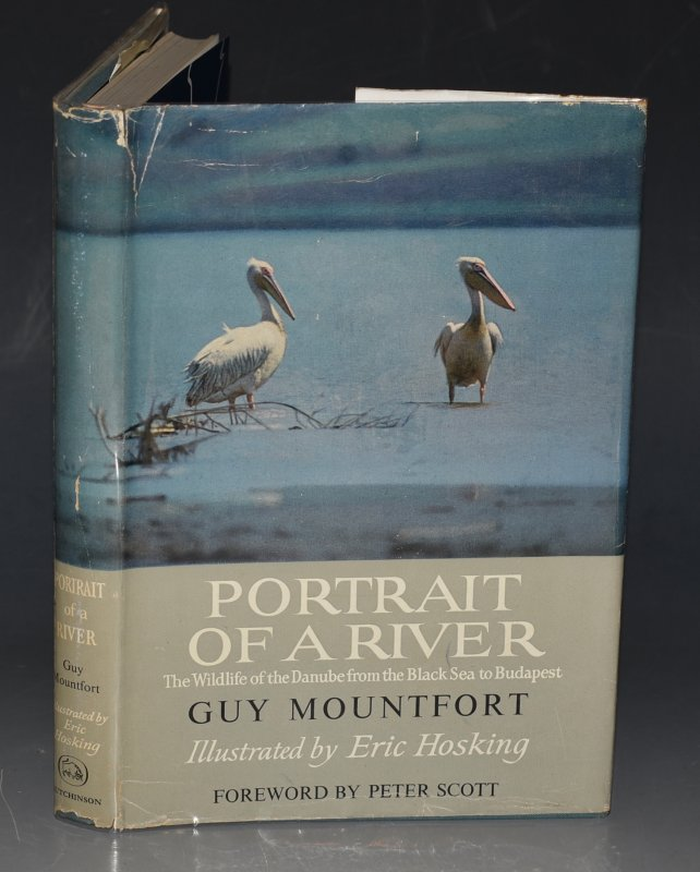 Image for Portrait of a River. The Wildlife of the Danube, from the Black Sea to Budapest. Illustrated by Eric Hosking. Foreword by Peter Scott.