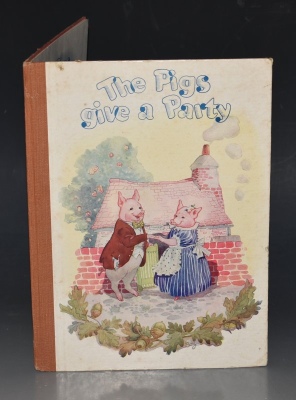 Image for The Pigs Give a Party Illustrated by Hilda Boswell.
