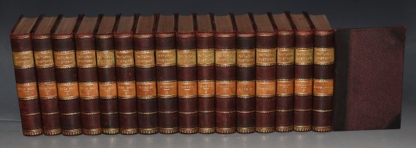 Image for LLOYD'S NATURAL HISTORY Complete Set of 16 Volumes. Edited by R. Bowdler Sharpe. A Hand-book to the... British Birds (4 vols.), Game Birds (2 vols.), Butterflies (2 vols.), Moths (3 vols.), Cats, Mammalia, Marsupials, and Primates (2 vols.) In Uniform Fine Leather Binding.