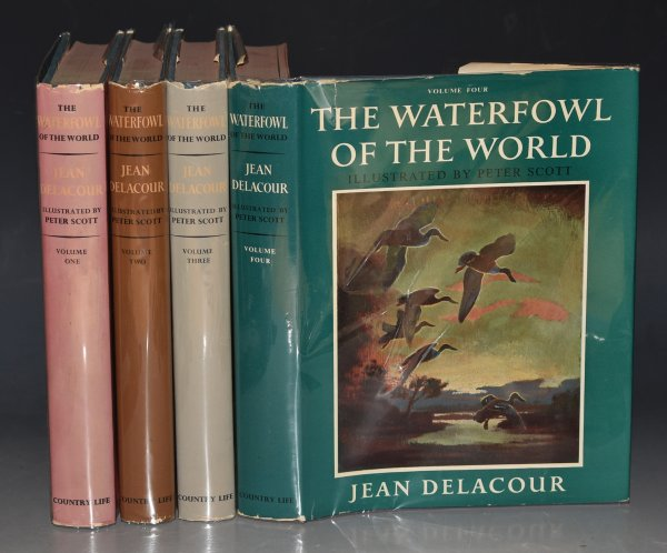Image for The Waterfowl of the World, Complete in Four Volumes. With Plates in Colour by Peter Scott, and Distribution Maps.