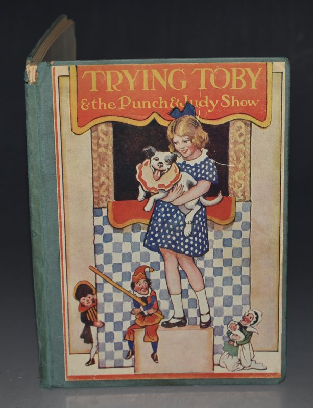 Image for Trying Toby and The Punch and Judy Show Told in Words by Margaret Gilmour. Pictures by Jack Orr.