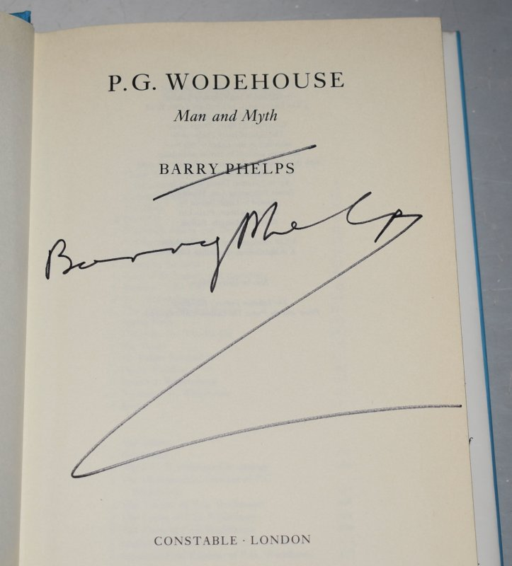 Image for P.G. Wodehouse, Man and Myth SIGNED COPY.