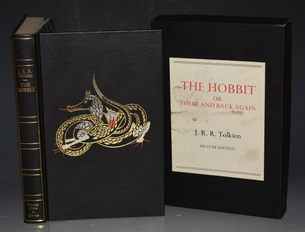 Image for The Hobbit or There and Back Again. Illustrations by The Author. De Luxe Edition.