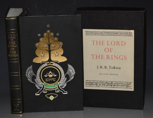 Image for The Lord of The Rings (Three Parts in One Volume.). Illustrations by The Author. De Luxe Edition.