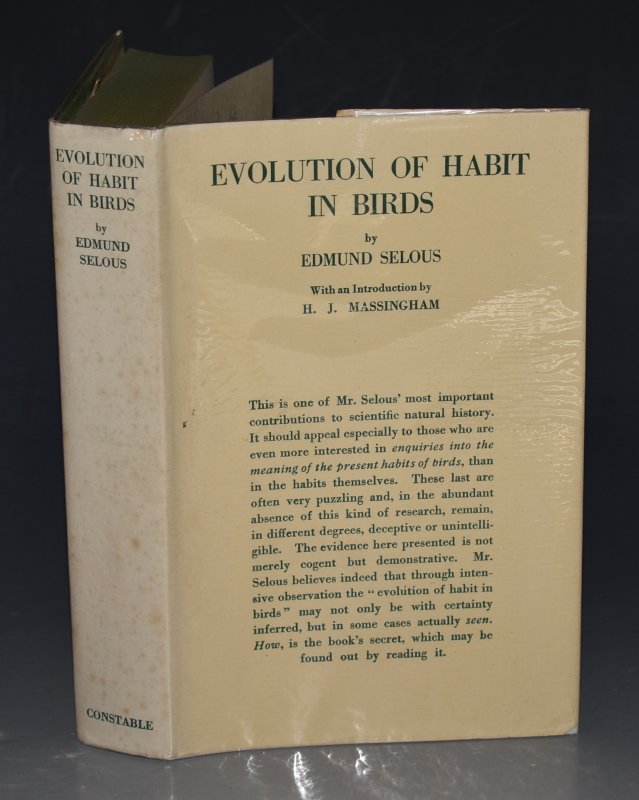 Image for Evolution of Habit in Birds With an introduction by H.J. Massingham.