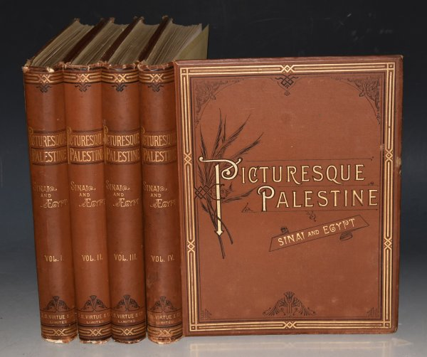 Image for Picturesque Palestine, Sinai and Egypt. Edited by Sir Charles Wilson, assisted by the most eminent Palestine explorers etc. With numerous engravings on steel and wood. In Four Volumes. With illustrations on Steel and Wood.