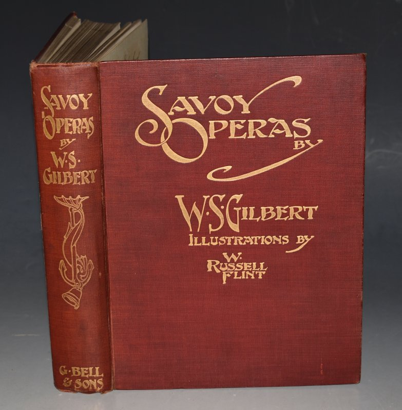 Image for Savoy Operas. COMPLETE With 32 illustrations in colour by W.Russell Flint.