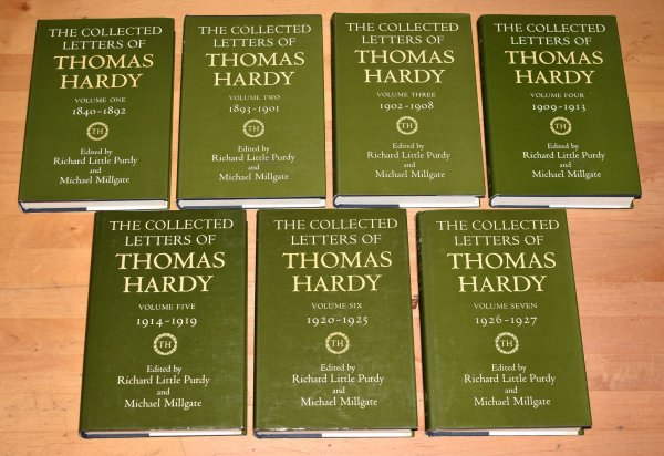 Image for The Collected Letters of Thomas Hardy. 1840 - 1927. (7 vols)