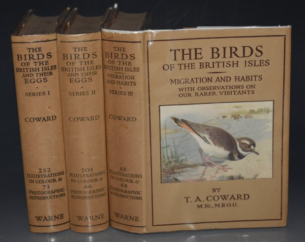 Image for The Birds Of The British Isles And Their Eggs. The Wayside & Woodland Series 3 Volumes. 1st.Series: The Families Corvidae To Phoenicopteridae/ 2nd.Series: The Families Anatidae To Phasianidae./ 3rd.Series: Their Migration And Habits And Observations On Our Rarer Visitants. 7th, 8th and 4th editions.