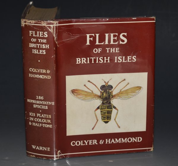 Image for Flies of the British Isles. in collaboration with Cyril O. Hammond. 48 Plates in Colour, 5 5half-tone plates and numerous text figures and diagrams...
