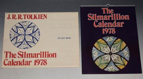Image for The Silmarillion Calendar 1978 UNUSED, Still in Original Packaging