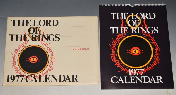 Image for THE LORD OF THE RINGS CALENDAR 1977. UNUSED, Still in Original Packaging