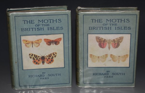 Image for The Moths of the British Isles. The Wayside and Woodland Series.  A Handy pocket guide with descriptive text. First Series; The Families Sphingidae to Noctuidae. With coloured figures and drawings of early stages. Edited and revised by H. M. Edelston and D. S. Fletcher. Second Series; Comprising the families Lasiocampidae to Hepialidae. Two volumes.