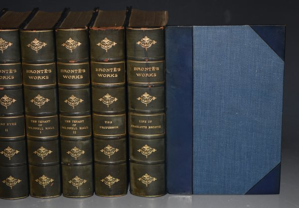 Image for Novels of the Sisters Bronte. Thornton Edition. Edited by Temple Scott. Complete in Twelve Volumes.