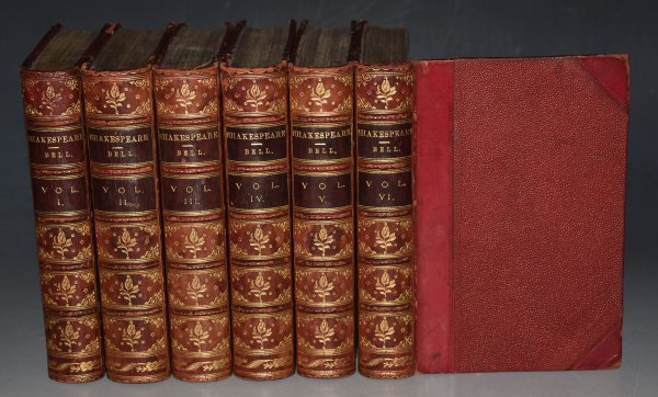 Image for The Dramatic Works of William Shakspeare With Biographical Introduction by Henry Glassford Bell. In Six Volumes.