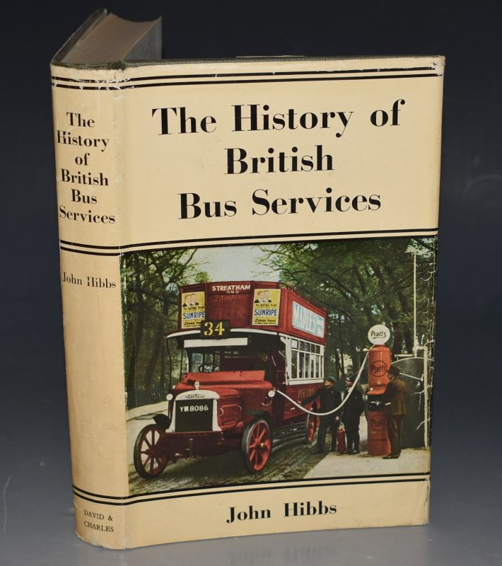 Image for The History of British Bus Services With Eleven Maps drawn by Eric Axten.
