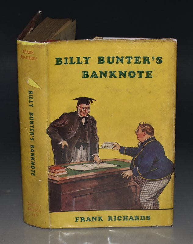 Image for Billy Bunter's Banknote. Illustrated by R.J.Macdonald.
