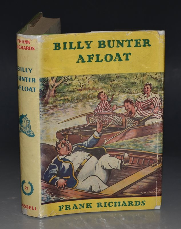 Image for Billy Bunter Afloat. Illustrated by C.H.Chapman.