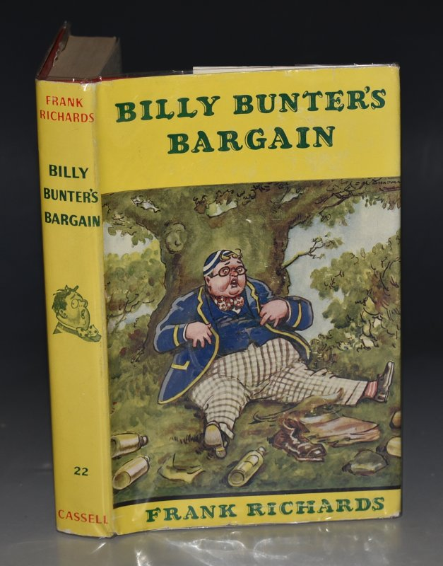 Image for Billy Bunter's Bargain. Illustrated by C.H.Chapman.