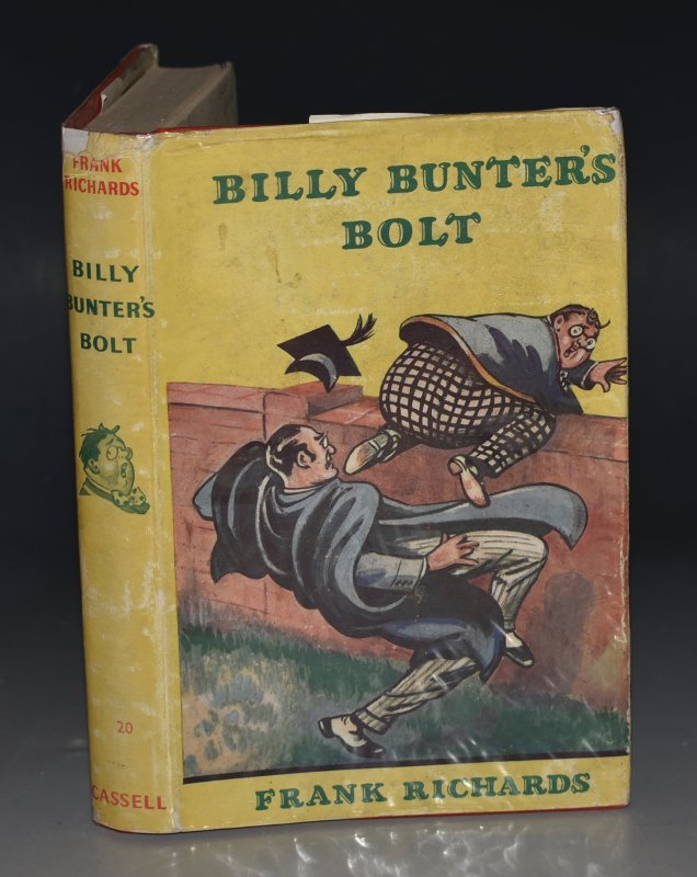 Image for Billy Bunter's Bolt. Illustrated by R. J. MacDonald.