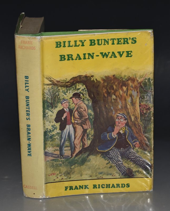 Image for Billy Bunter's Brain-Wave. Illustrated by R. J. MacDonald.