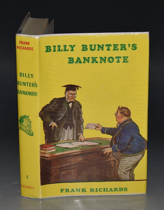 Image for Billy Bunter's Banknote. Illustrated by R. J. MacDonald.