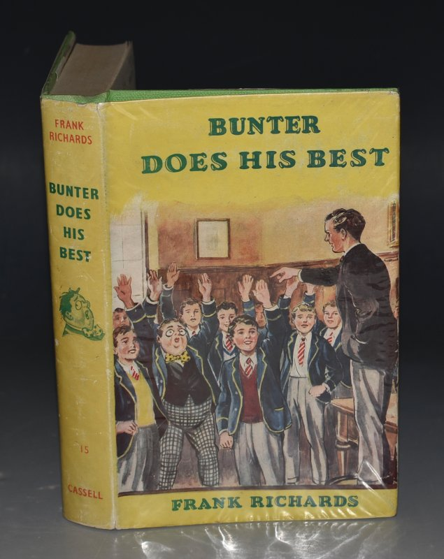 Image for Bunter Does His Best. Illustrated by C.H.Chapman.