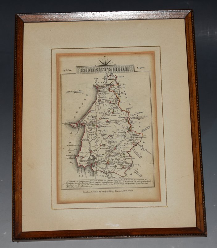 Image for Original Engraved Map of Dorsetshire.