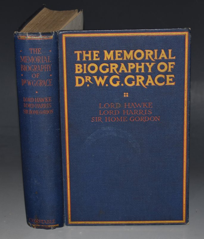 Image for The Memorial Biography of Dr. W. G. Grace. Issued under the auspices of The Committe of M.C.C.