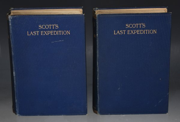 Image for Scott's Last Expedition. Vol.I - Being the Journals of Capt. R. F. Scott. Vol.II - Being the reports of the journeys & the scientific work undertaken by Dr. E. A.Wilson and the surviving Members of the Expedition. In Two Volumes. Second Edition.