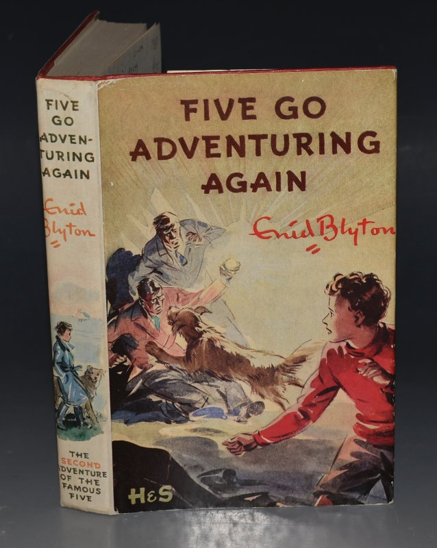 Image for Five Go Adventuring Again. Pictured by Eileen A.Soper.
