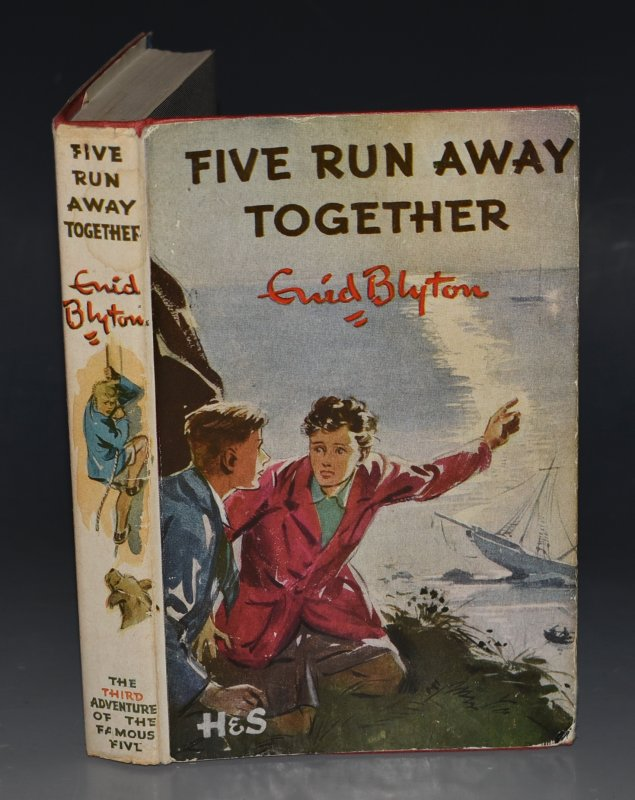 Image for Five Run Away Together. Pictured by Eileen A.Soper.