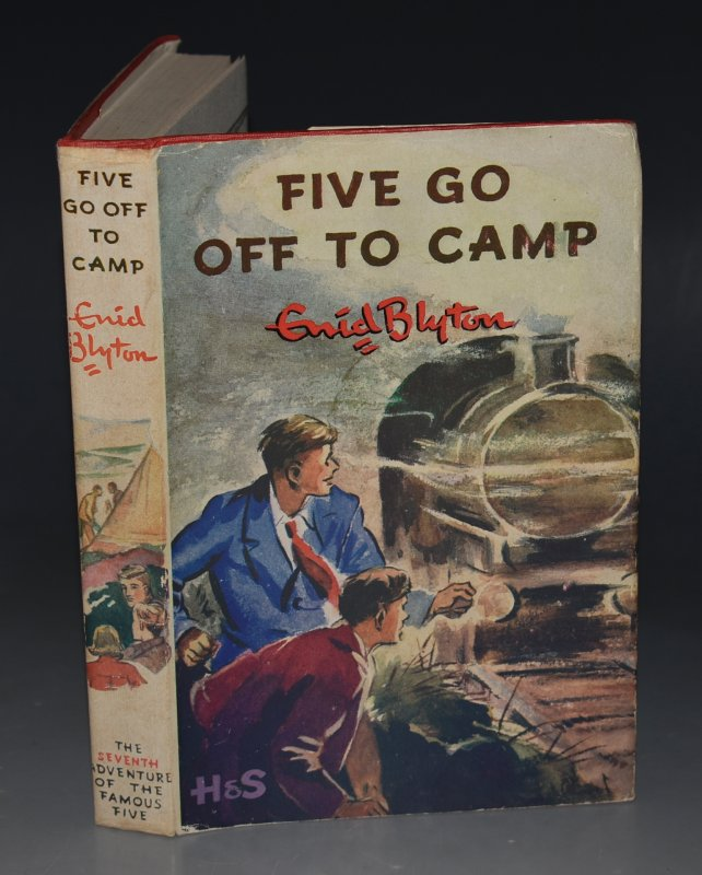 Image for Five Go Off To Camp. Pictured by Eileen A.Soper.