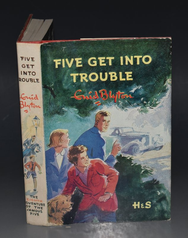 Image for Five Get Into Trouble. Pictured by Eileen A.Soper.