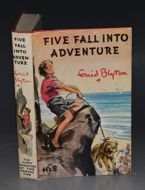 Image for Five Fall Into Adventure. Pictured by Eileen A.Soper.