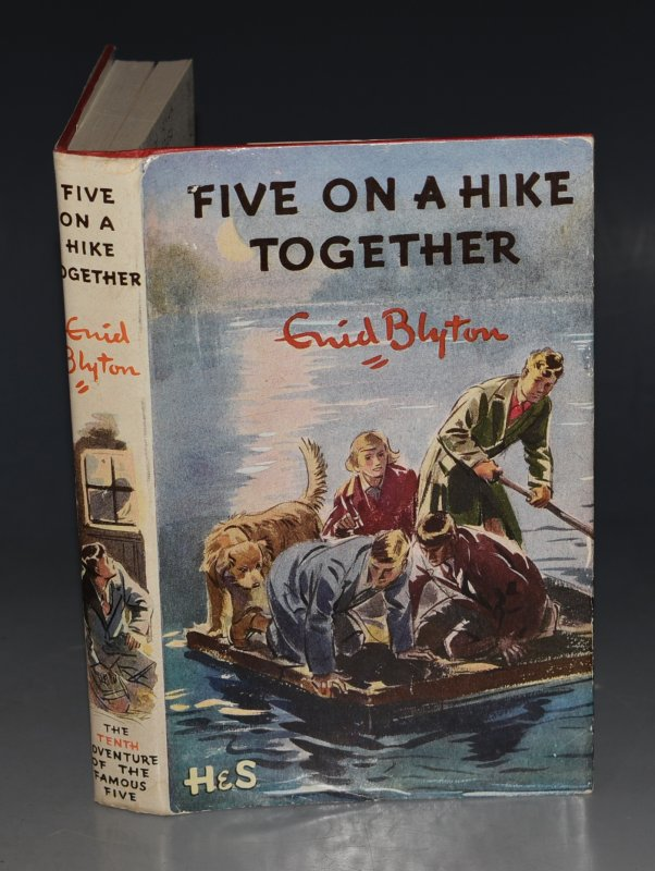 Image for Five On A Hike Together. Pictured by Eileen A.Soper.