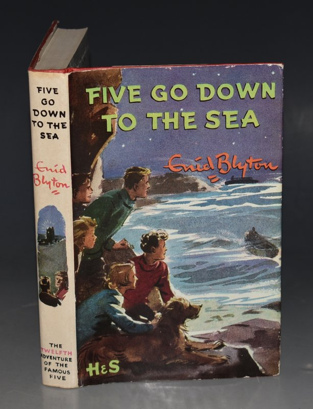 Image for Five Go Down To The Sea. Pictured by Eileen A.Soper.